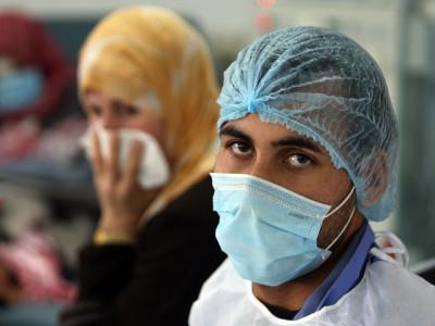 Вирус атипичной пневмонии рядом с Израилем