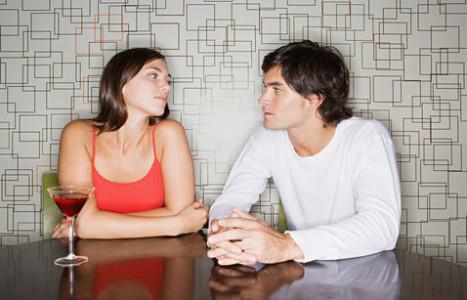 Супруги разговаривают