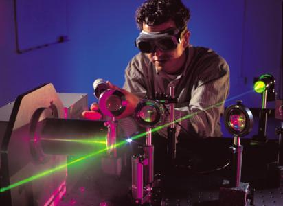 Испытания лазера