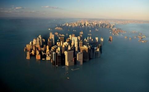 Море затопило город