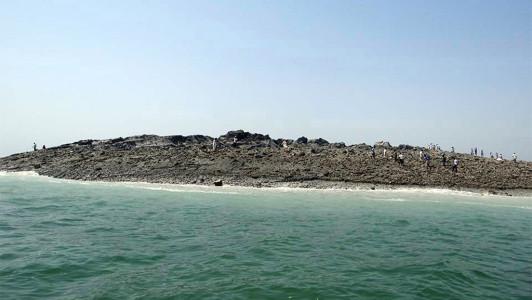 Остров после пакистанского землетрясения