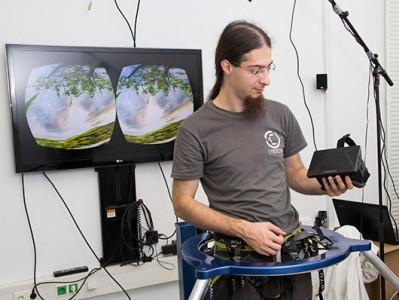 Virtualizer переносит движения игрока в виртуальное пространство