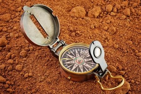 Компас на Марсе