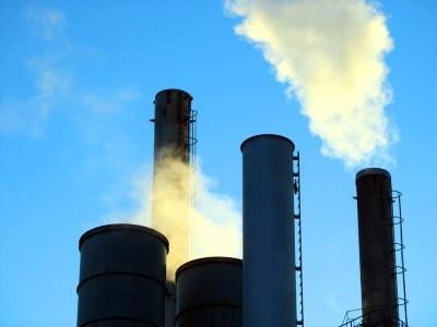 Оксид углерода выделяется в атмосферу