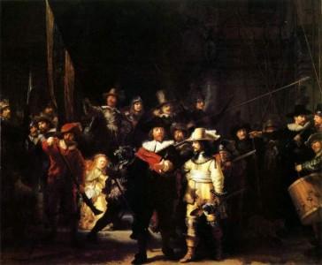 Потемневшая картина - Выступление стрелковой роты капитана Франса Баннинга Кока и лейтенанта Виллема ван Рейтенбюрга