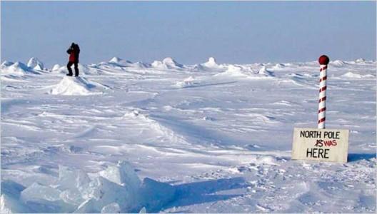 Изменение климата приводит к смещению полюсов