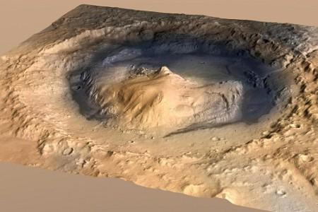 На Марсе найдены следы органических веществ