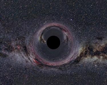 Черная дыра может существовать с обычной звездой