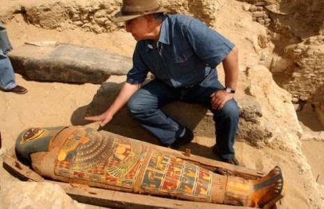 Очередные археологические находки в Египте