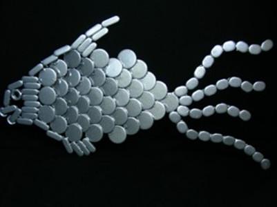 Чешуйчатые бронежилеты, имитирующие эластичность рыб