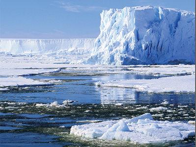 плавучие ледники в Антарктиде