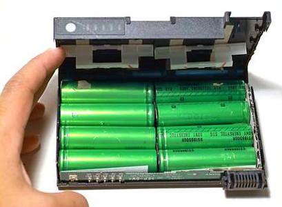 краситель пурпурин в «зеленых» литий–ионных батареях