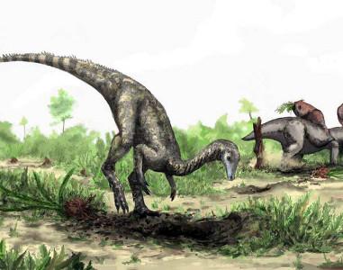 Древнейший динозавр Nyasasaurus parringtoni