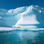 Площадь льдов в Арктике достигла рекордно низкого уровня