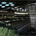 В разработке уникальный подземный небоскреб